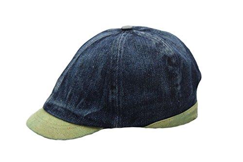 Green Flat Unisex Beret Denim Acvip Cappello Fluo Adult Cap 5OqZw0fnxU
