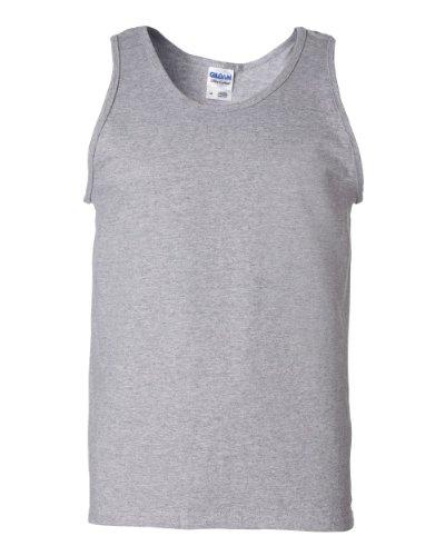 Gildan Ultra Cotton™ 90/10 Cotton/Poly Sleeveless T-Shirt S Sport Grey 2700 Gear For Sports Sleeveless T-shirt