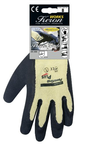 Gr/ö/ße 8 Kerbl 297312 Handschuhe Qualit/äts-Handschuh PowerGrab PLUS