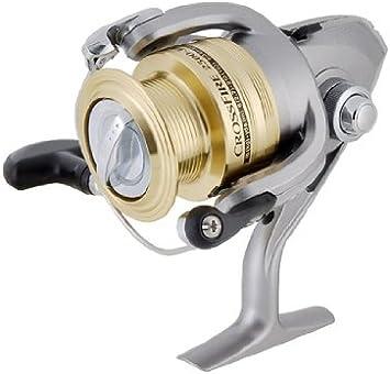 Daiwa CrossFire 2500 3iB Doble Carrete Carrete Spinning (de oro ...