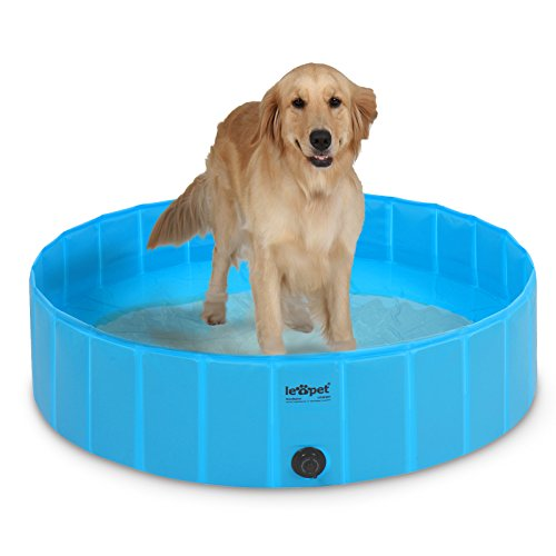 Leopet Hundepool Hundebadewanne Hundebad in 2 Größen (S)