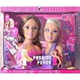 Mattel Barbie Fashion Fever Styling Heads