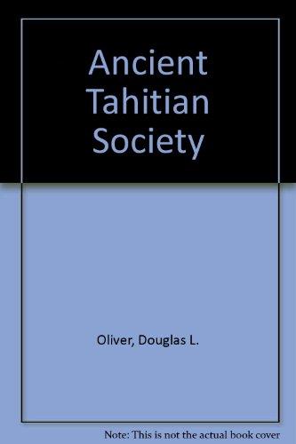 Ancient Tahitian Society (3 Volume Set)
