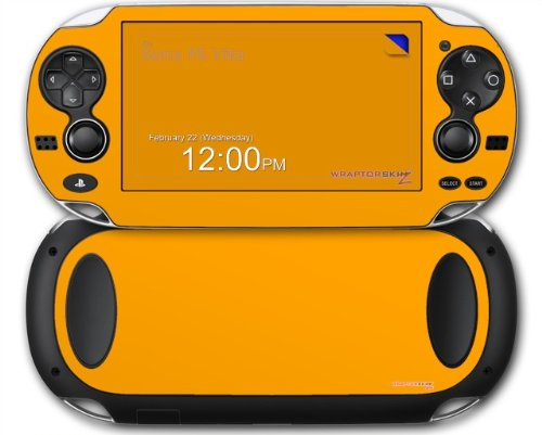 Sony PS Vita Skin Solids Collection Orange by WraptorSkinz