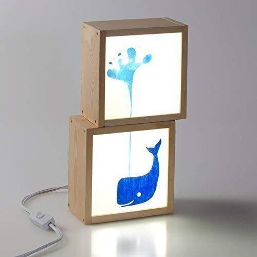 Cajas de luz - Quitamiedos, pintada a mano, decoración habitación infantil, regalo personalizado