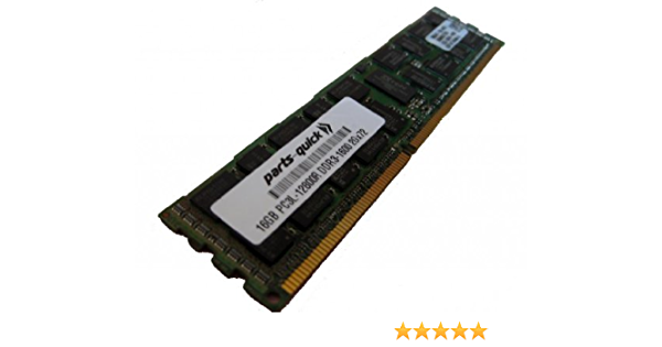 Certified Refurbished PC3-12800R 1600MHz DDR3 ECC Registered Memory Kit for a Dell PowerEdge C6220 Server 48GB 12x4GB