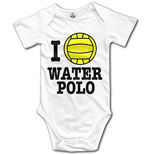 I Love Waterpolo Logo Baby Onesie Bodysuit In 4 Sizes for sale  Delivered anywhere in USA