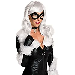 Rubie's Women's Marvel Universe Black Cat Wig, As Shown, One Size
