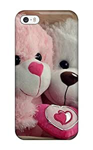Premium Tpu Teddy Bear Animation Cover Skin For Iphone 5/5s