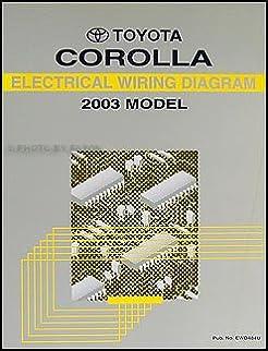 2003 toyota corolla wiring diagram manual original toyota amazon 2003 Toyota Corolla Fuse Diagram