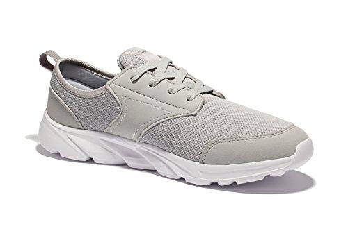 newluhu - Zapatillas para correr en montaña de Material Sintético para hombre gris