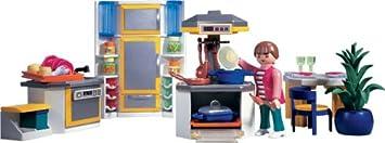 Playmobil - 3968 - La Maison Moderne - Cuisine Moderne ...
