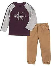 Calvin Klein Baby-Boys 2 Pieces Pant Set Pants Set