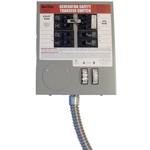 Cheap Generac 6376 30-Amp 6-10 Circuit Indoor Manual Transfer Switch for Maximum 7,500 Watt Generators