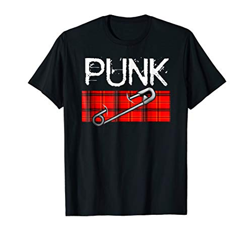 Punk Rock Music Novelty Tshirt Easy Costume Party