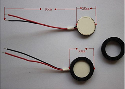 Icstation 25mm Ultrasonic Mist Maker Fogger Ceramic Discs for
