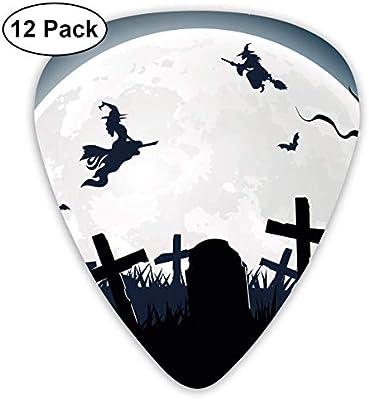 Púas de guitarra Anticso personalizadas, para Halloween, bruja ...