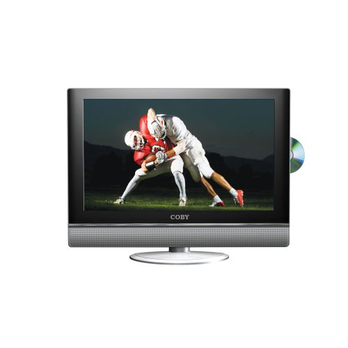 Coby TF-DVD2771 27-Inch HD LCD TV with ATSC Digital TV Tuner & Side Loading DVD Player