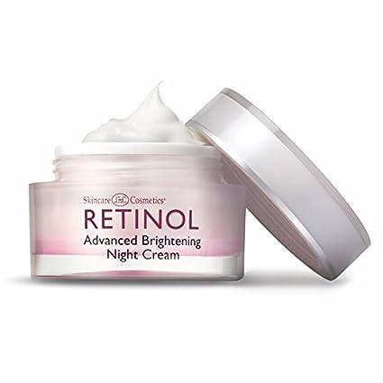Crema Blanqueadora Nocturna Avanzada de Retinol - La Fórmula Cremosa Nocturna Original de Retinol para Aclarar