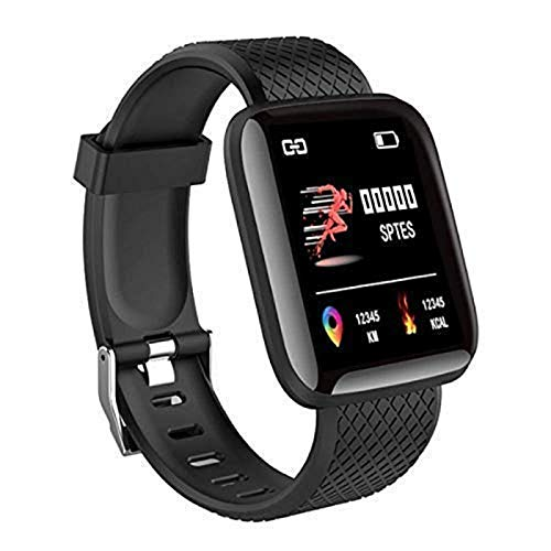 SHOPTOSHOP Smart Band ID11604 Fitness Tracker Watch Heart Rate with Activity Tracker Waterproof Body Functions Like Steps Counter, Calorie Counter, Heart Rate Monitor