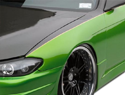 Duraflex ED-FTS-774 Silvia S15 Conversion OEM Fenders - 2 Piece Body Kit - Compatible For Nissan 240SX 1995-1998