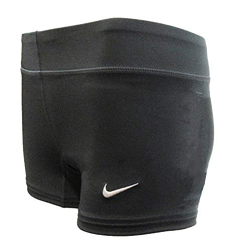 Nike Performance Game Womens Volleyball Shorts (X-Small, Anthracite)