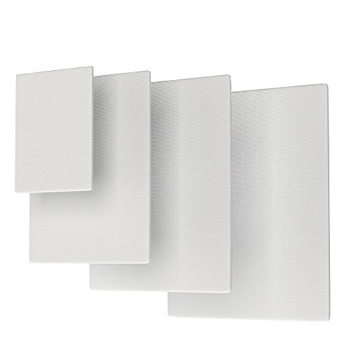 Canvas Panel Variety Pack for Painting, Academy Art Supplies - 5''x7'', 8''x10'', 9''x12'', 11''x14'' (28 Pack) by Academy Art Supply