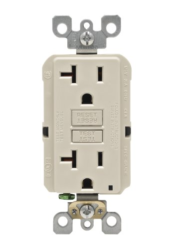 Leviton N7899 T SmartLock Non Tamper Resistant Receptacle