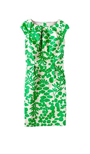 BODEN Olivia Green Floral Dress Size US 10 P from BODEN