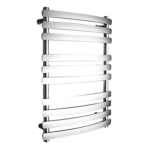 - XingMe Electric Towel Rack,Heated Towel Rail Straight Flat Chrome Bathroom Warmer Radiator Rack Central Heating 304