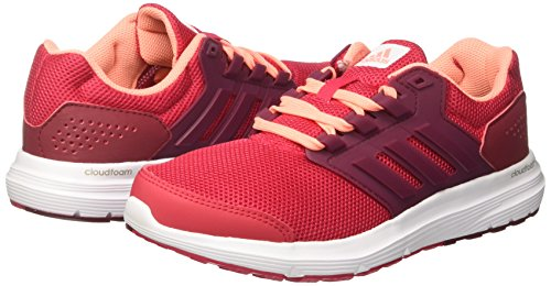 F17 Comptition Glow energy Pink 4 Femme sun Running S16 Chaussures Multicolore collegiate Adidas De Galaxy Burgundy fXwvqv