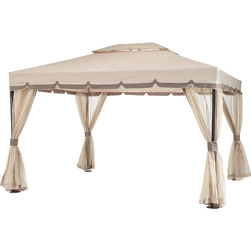 Capitola Gazebo Replacement Canopy Top Cover - RipLock - Capitola Stores
