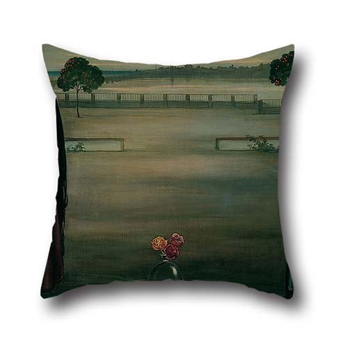 Oil Painting Julio Romero De Torres - Panneau (Panel) Throw Pillow Case 16 X 16 Inch / 40 By 40 Cm Best Choice For Boys,christmas,indoor,bench,father,dining Room With Twice Sides