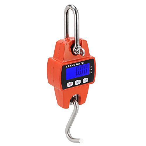 ronic Digital Hanging Scale LCD Display 300 KG 660 LBS Heavy Duty Crane Scale Weighing Tool Industria (Model Power Farmhouse)
