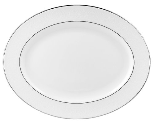 - Lenox Hannah Platinum 16-Inch Bone China Platter