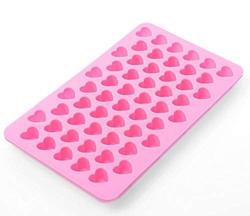 55 Love Heart Silicone Mould Mold Chocolate Candy Gummy Maker Ice Jelly Tray