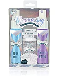 NPW Mermazing Mermaid Spray-In Hair Duo with Glitter