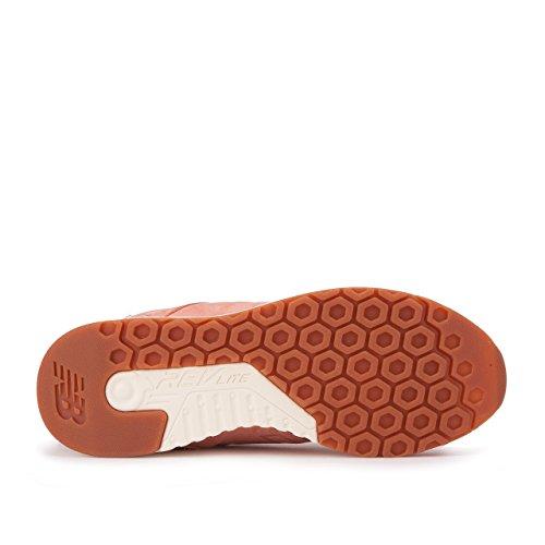 New Balance Mesh Orangefarbig Herren Classic 247 Sneaker vvdxwrCPUq
