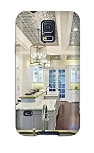 Awesome Design Gourmet Kitchen With Range And Baking Station Hard Case Cover For Galaxy S5