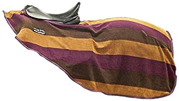HKM 567528 Nieren Abschwitzdecke Colour stripes mit Klett