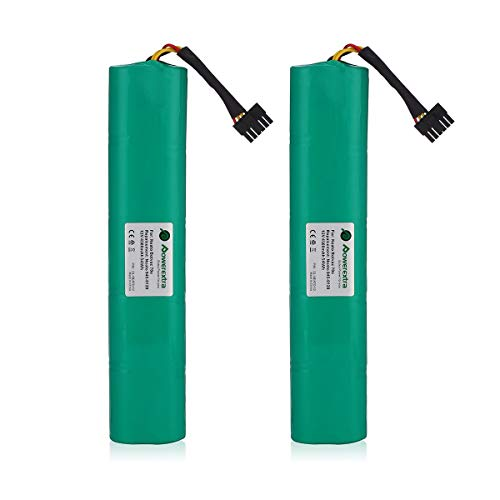 (Powerextra 2 Pack 12V 4500mAh Ni-Mh Replacement Battery Compatible with Neato Botavc Series and Botvac D Series Neato Botvac 70e, 75, 80, 85, D75, D80, Botvac)
