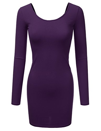 Purple Cotton Dress - 3
