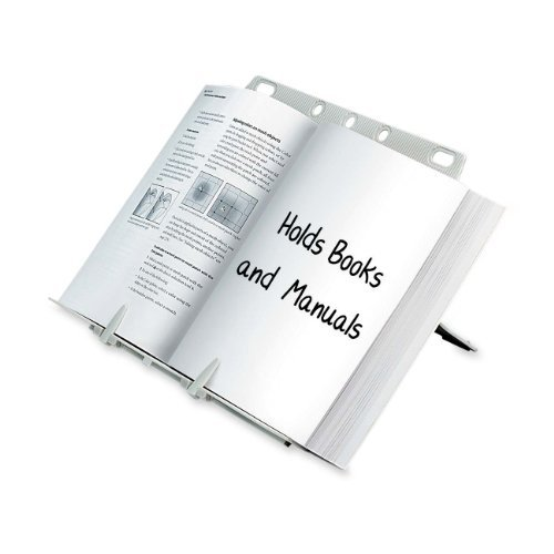 - Fellowes Booklift Copyholder, Platinum (21100) Office Supply Product