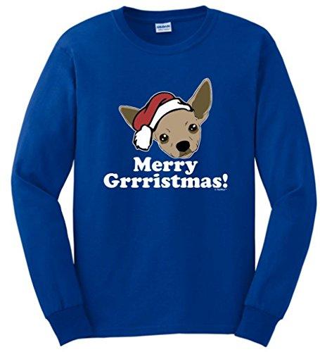 Grrristmas Chihuahua Christmas Sleeve T Shirt