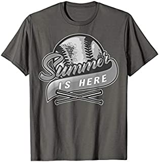 Summer Is Here Baseball  | Cute Summer Vacation Gift T-shirt | Size S - 5XL