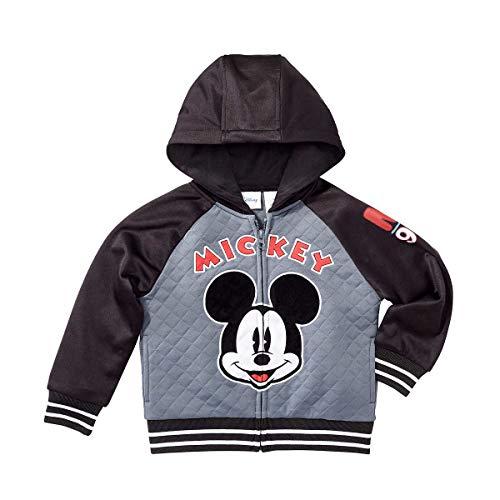 Character Kids' Full Zip Hoodie (Mickey Mouse, 7) (Dc Pink Hoodie)