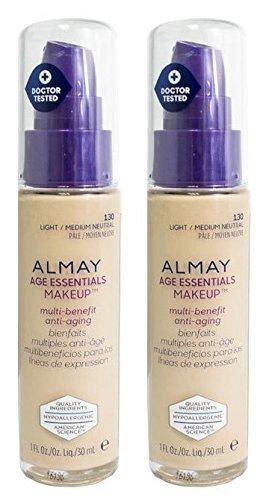 Com Almay Cosmetics Age Essentials Makeup Foundation 130