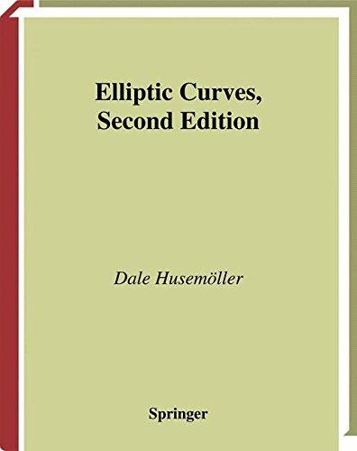 Elliptic Curves (Graduate Texts in Mathematics)