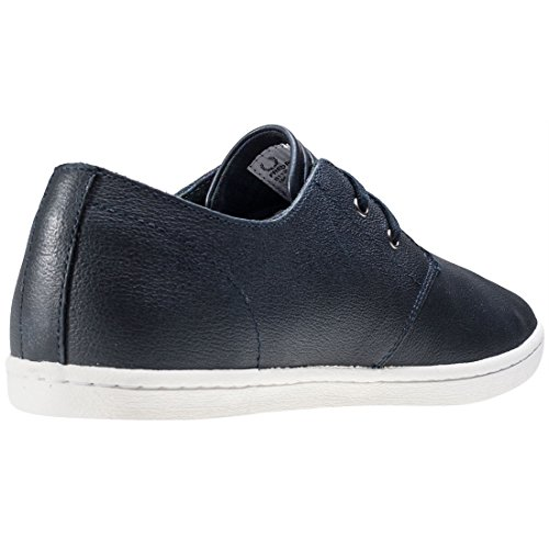 Fred Perry Byron Low Tumbled Leather Navy B1133608, Scarpe sportive