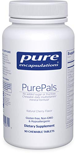 Pure Encapsulations – PurePals – Hypoallergenic Multivitamin/Mineral Formula for Cognitive Function, Mood and Immune Support* – 90 Chewable Capsules For Sale